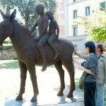 36-mattia-trotta-artist-sculptures-metal-alluminium-steel-bronze-copper-wire-fratelli-brothers-villa-fabbricotti-firenze
