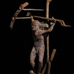 79-mattia-trotta-artist-sculptures-metal-iron-wire-tito-Il-buon-ladrone-The-good-Thief-holy-art
